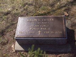 Solon Leroy Cutler