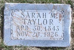 Sarah Mariah <i>Hyde</i> Taylor