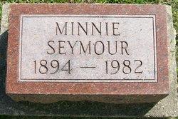 Minnie <i>Broughton</i> Seymour
