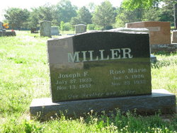 Joseph F Miller