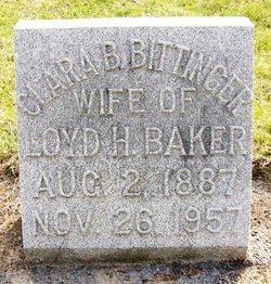 Clara Belle <i>Bittinger</i> Baker
