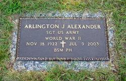 Arlington Joseph Alexander