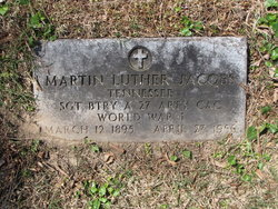 Sgt Martin Luther Jacobs