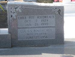 Emile Pete Boudreaux