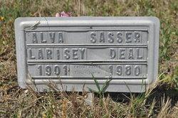 Alva Sasser <i>Larisey</i> Deal