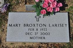 Mary <i>Broxton</i> Larisey