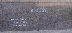 Edgar Jug Allen, III
