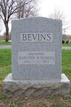 Dorothy <i>Bevins</i> Hobbes