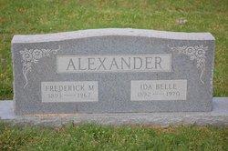 Frederick Marvin Alexander