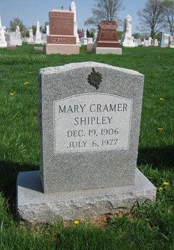 Mary <i>Cramer</i> Shipley