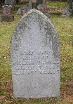 Mary <i>Page</i> Barnes
