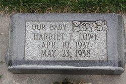 Harriet Francis Lowe