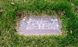 Mary <i>Steele</i> Cannon