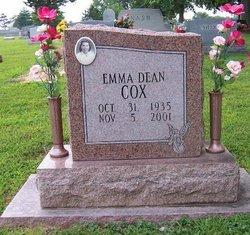 Emma Dean <i>Hampton</i> Cox