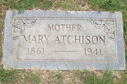 Mary <i>Bell</i> Atchison