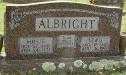 Millie <i>Johnson</i> Albright