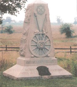 9th Michigan Battery 1st Art'y Monument
