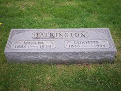 Lafayette William Talkington
