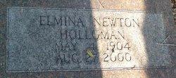 Elmina <i>Newton</i> Holloman