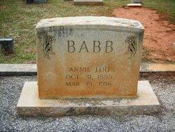 Annie Lou Babb