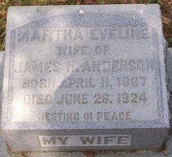 Martha Eveline Anderson