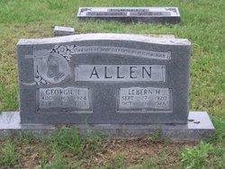 LeBern H Allen