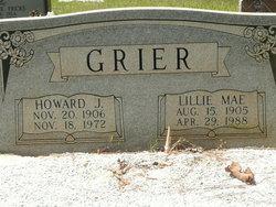 Lillie Mae <i>Jordan</i> Grier