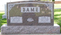 Mrs Floris Daisy <i>Gant</i> Bame
