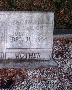 Jane <i>Ragsdale</i> Atcheson