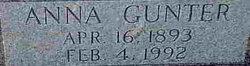 Anna Mae Annie <i>Gunter</i> McMahan