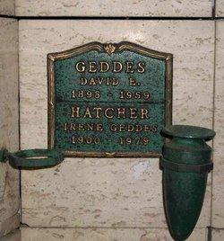Irene Agnes <i>Geddes</i> Hatcher