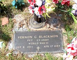 Vernon George Blackmon