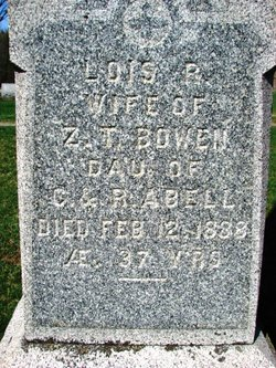 Lois R <i>Abell</i> Bowen