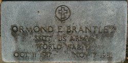 Ormond Edsel Brantley