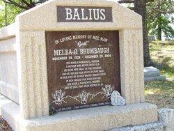 Melba O Gail <i>Brumbaugh</i> Balius