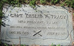 Capt Leslie F Tracy
