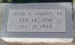 John N Hardin, Sr