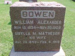 Sibylla M Sibby <i>Matheson</i> Bowen