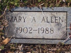 Mary A. Allen