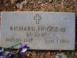 Richard Briggs, III