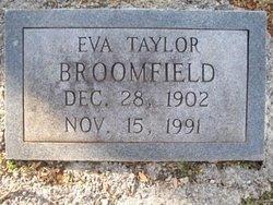 Eva <i>Taylor</i> Broomfield