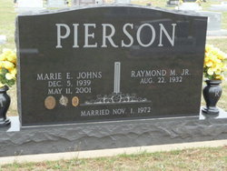 Marie Elizabeth <i>Johns</i> Pierson