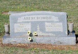 Bertie <i>Tolbert</i> Abercrombie