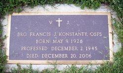 Br Francis J. Konstanty