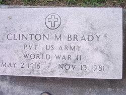 Clinton M. Buddy Brady