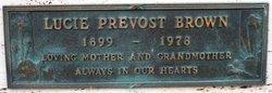 Lucie <i>Prevost</i> Brown