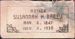 Susannah <i>Hawkins</i> Bailey