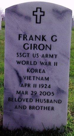 Sgt Frank G Giron