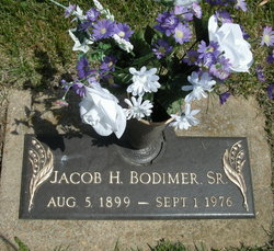 Jacob Henry Bodimer, Sr