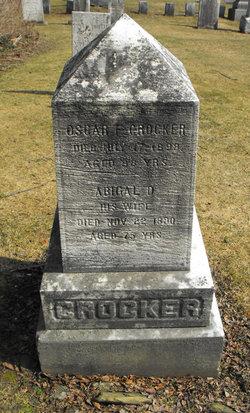 Abigail D. <i>Weatherow</i> Crocker